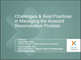 Challenges & Best Practices in Managing the Account Reconciliaiton Process
