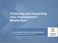 Protecting Mobile Data (9/12/12)