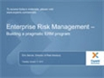 Enterprise Risk Management Webinar