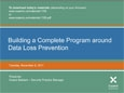 Data Loss Prevention Webinar