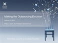 Insourcing Versus Outsourcing: The Changing Landscape